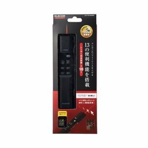 エレコム ELP-RL08PMBK マウス操作機能搭載赤色レーザープレゼンター