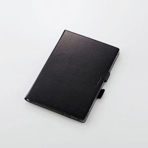 エレコム TBD-FA04A360BK docomo F-04H用ソフトレザーカバー(360度回転) ブラック