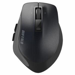 バッファロー BSMBW500MBK Premium Fitマウス 無線/BlueLED光学式/静音/5ボタン/横スクロール/Mサイズ ブラック
