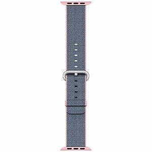 アップル(Apple) MNKG2FE/A Apple Watch 42mm ケース用 ライトピンク/ミッドナイトブルーウーブンナイロン