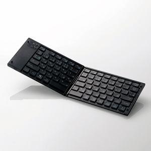 エレコム TK-FLP01BK ワイヤレスBluetoothキーボード ブラック