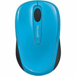 マイクロソフト Wireless Mobile Mouse 3500 Cyan Blue Refresh GMF-00420