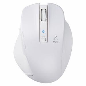 ナカバヤシ MUS-BKF131W BlueLED Bluetoothマウス Z 5ボタン Mサイズ ホワイト
