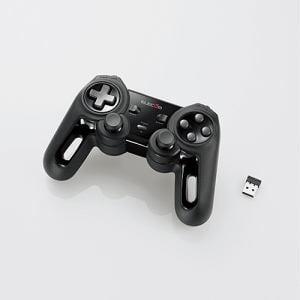 エレコム JC-U4113SBK 超高性能ワイヤレスゲームパッド ブラック