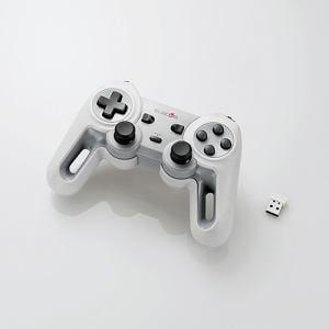 エレコム JC-U4113SWH 超高性能ワイヤレスゲームパッド ホワイト