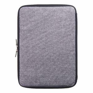 トリニティ MacBook Pro 13 USB Type-C BookZip ジッパー式軽量クッションケース TR-MBP1613-BZ-MGY