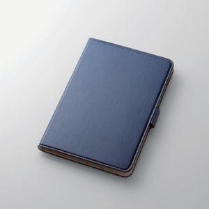 エレコム TB-A17S360BU  iPad mini 4用ソフトレザーカバー(360度回転)