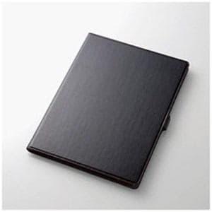 エレコム TB-A17L360BK 12.9インチiPad Pro用 ソフトレザーカバー(360度回転) ブラック