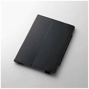エレコム TB-A17PLFBK 10.5インチiPad Pro用 ソフトレザーカバー(2アングル)(ブラック)