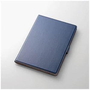 エレコム TB-A17360BU 10.5インチiPad Pro用 ソフトレザーカバー(360度回転)(ブルー)