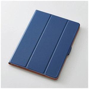 エレコム TB-A17WVSMBU 10.5インチiPad Pro用 フラップカバー 360度回転 ブルー