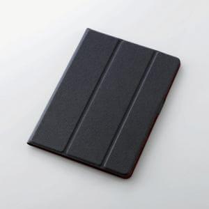 エレコム TB-A179WDTBU 9.7インチiPad(2017)イタリアンソフトレザーカバー ブルー