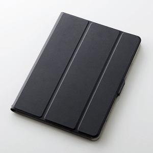 エレコム TB-A179WVSMBK 9.7インチiPad(2017)用フラップカバー(360度) ブラック