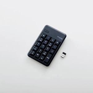 エレコム TK-TDM017BK 2.4GHzワイヤレステンキーパッド