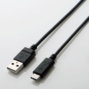 エレコム TB-AC10NBK USB2.0ケーブル(A-C) 1.0m
