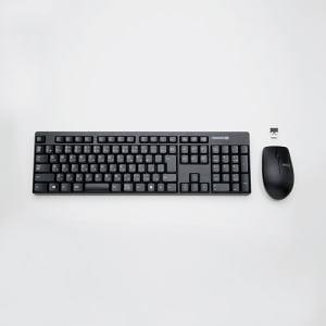 エレコム TK-FDM087MBK 2.4GHzワイヤレスフルキーボード&マウス