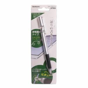オウルテック OWL-TPSE02-SI 2WAY タッチペン シルバー