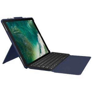 ロジクール IK1272BLA iPad Pro 12.9インチ用 バックライトキーボード付きケース 「SLIM COMBO」 ブルー