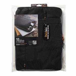 エレコム BM-IBCD15BK CORDURAインナーバッグ(~15.6インチ) ブラック