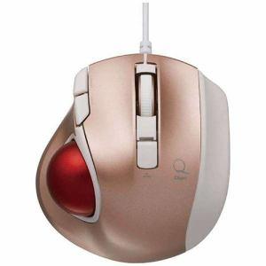 ナカバヤシ MUS-TULF133P 有線レーザー式トラックボール USB 1.5m 極小(5ボタン:Winのみ・ピンク)