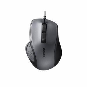 バッファロー BSMBU300BK 有線BlueLED光学式マウス 静音/5ボタン/DPI切り替えボタン ブラック