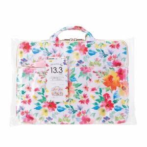 エレコム BM-IBFB13F1 花柄インナーバッグ 花柄(ピンク)