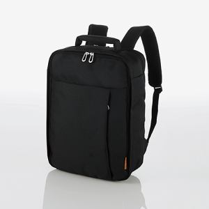 エレコム BM-SN02BK スタンダードPCバッグ(バックパック) ブラック