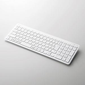 エレコム TK-FBP101WH  Bluetooth薄型コンパクトキーボード
