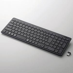 エレコム TK-FDP099TBK  無線薄型コンパクトキーボード
