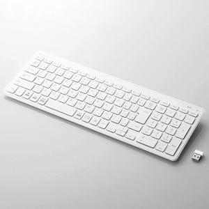 エレコム TK-FDP099TWH  無線薄型コンパクトキーボード