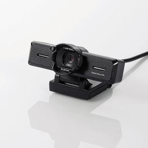 エレコム UCAM-C980FBBK 超高精細Full Hd対応800万画素Webカメラ