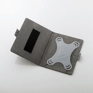 エレコム TB-10CMLBK タブレット汎用ケース レザー(8.5~10.5インチ) ブラック