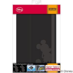 レイ・アウト Xperia Tablet Z SO-03E フラップタイプ・レザー(合皮)/ミッキー