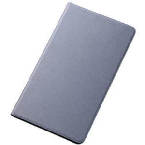 レイ・アウト MediaPad M1 8.0/403HW/d-01Gスリムレザーケース(合皮)/シルバー