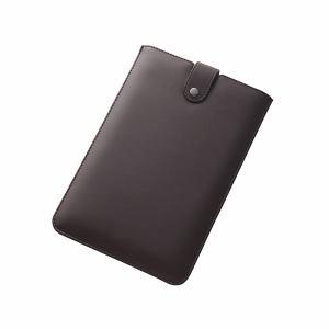 レイ・アウト Qua tab 01 スリーブレザーケース(合皮)/ダークブラウン RT-QT01LC5/DK