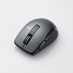 エレコム M-BT20BBBK Bluetooth 4.0 BlueLED 5ボタンマウス ブラック