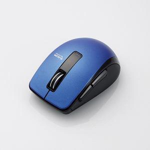 エレコム M-BT20BBBU Bluetooth 4.0 BlueLED 5ボタンマウス ブルー