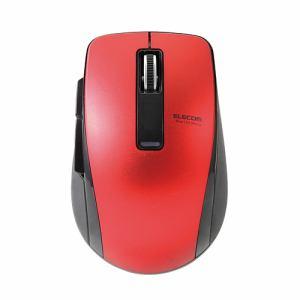 エレコム M-BT20BBRD Bluetooth 4.0 BlueLED 5ボタンマウス レッド