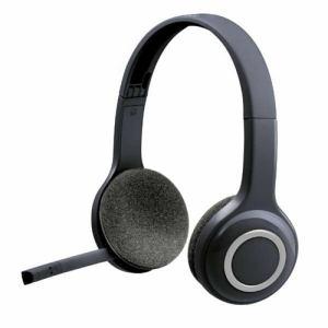 ロジクール H600R ワイヤレスヘッドセット ブラック