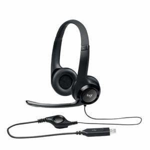 ロジクール H390R USBヘッドセット ブラック