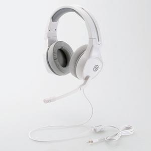 エレコム HS-G01WH ゲーミングヘッドセット ホワイト
