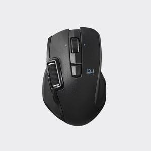 エレコム M-DWM01DBBK ハードウェアマクロ搭載マウス(サイドホイール/Mサイズ) ブラック