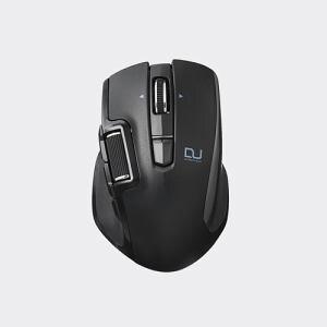 エレコム M-DWS01DBBK ハードウェアマクロ搭載マウス(サイドホイール/Sサイズ) ブラック