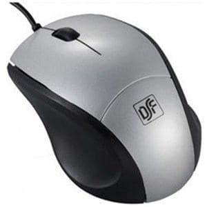 オーム電機 PC-SMBL1S-S 有線Blue LEDマウス USB・Mac/Win Sサイズ (3ボタン・シルバー)
