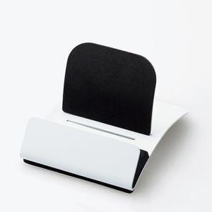 エレコム TB-DSCHARCWH タブレット用 スチールスタンド ホワイト