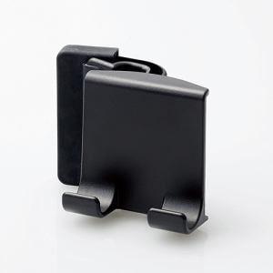 エレコム P-DSCLPDBK スマートフォン用 ディスプレイクリップスタンド ブラック