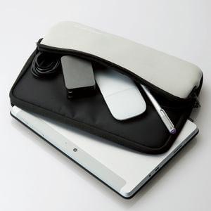 エレコム TB-MSG18NPPBK Surface Go ポケット付インナーバッグ ブラック
