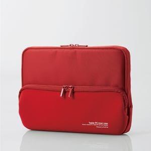 エレコム TB-MSG18NPPRD Surface Go ポケット付インナーバッグ レッド