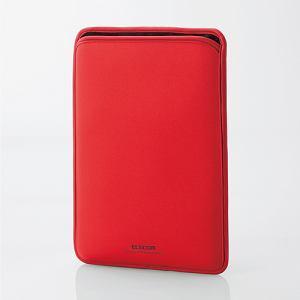 エレコム TB-MSG18NPRD Surface Go ネオプレンポーチ レッド