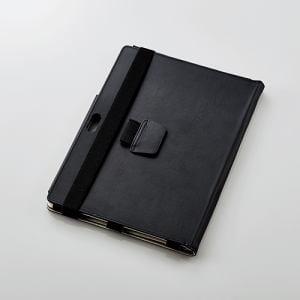 エレコム TB-MSG18PLFBK Surface Go Surface Go用ソフトレザーカバー(2アングル)